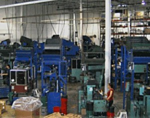 Sorting Department, With Sorting Machines